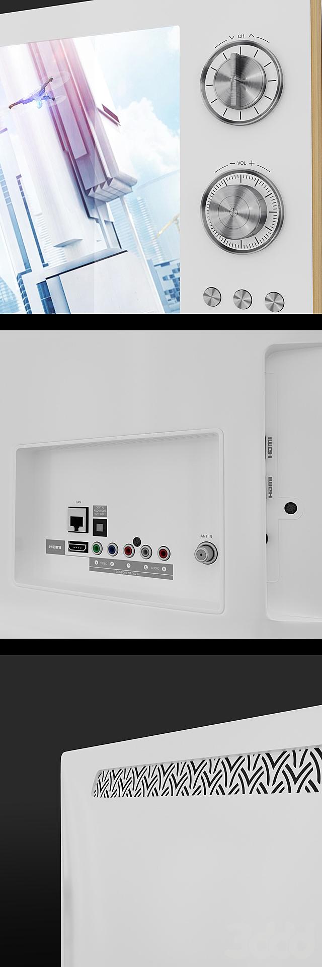 LG Classic TV 2013 Retro design