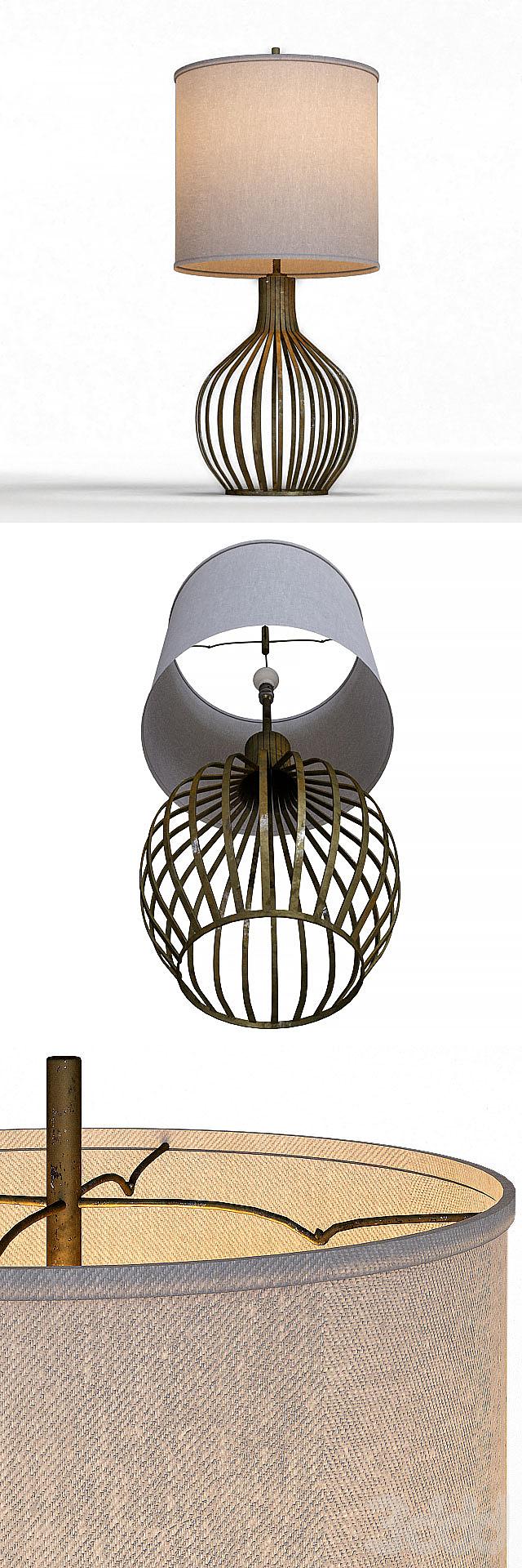 "Bast 31"" Table Lamp"