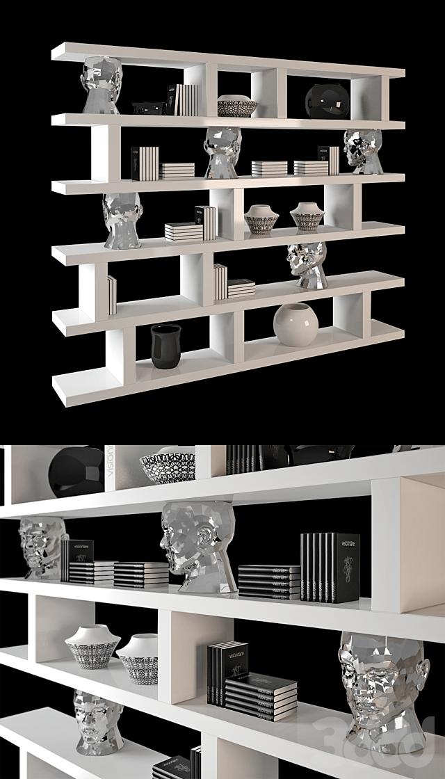 Visionnaire Forma Mentis bookshelf