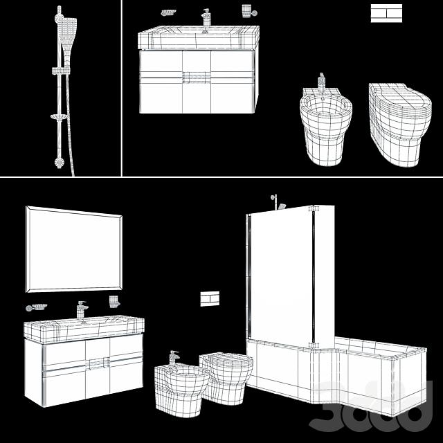 Jacob Delafon bathroom set