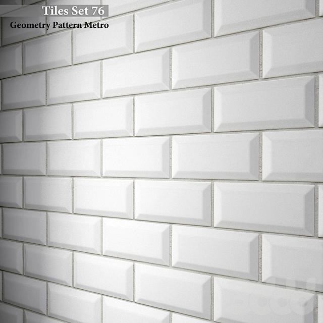 Tiles set 76. Geometry Pattern Metro