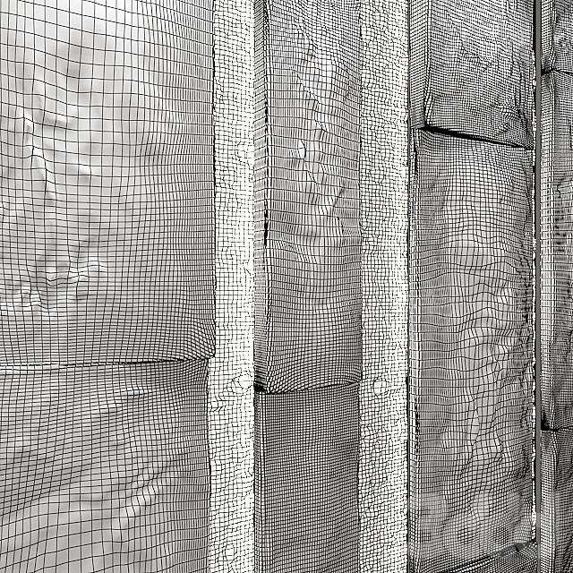 stone & moss wall