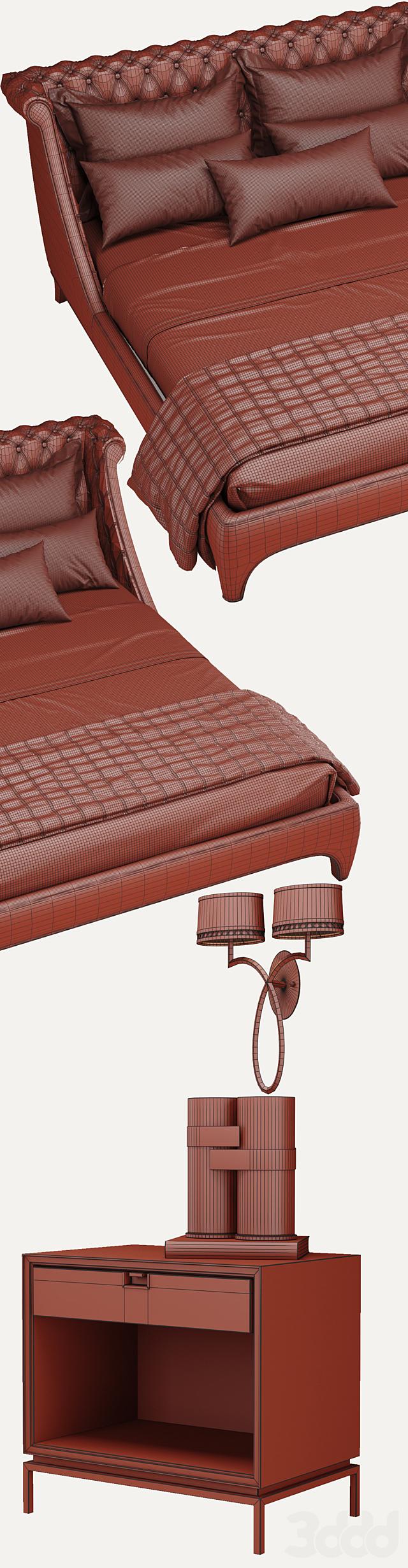 Bradmore Bed - Gianfranco Ferrè Home