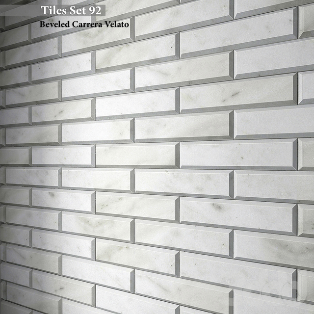 Tiles set 92. Geometry Pattern Metro