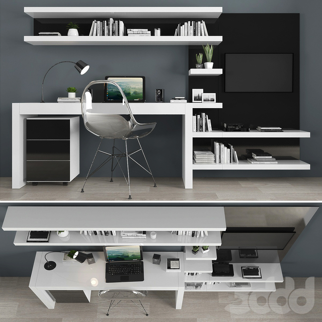 TV stand set 019