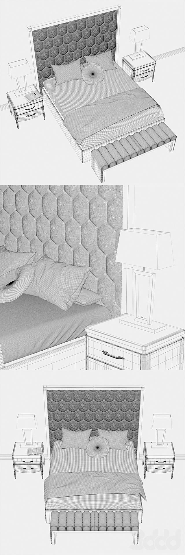 Итальянская спальня NIGHT 7 DV HOME COLLECTION