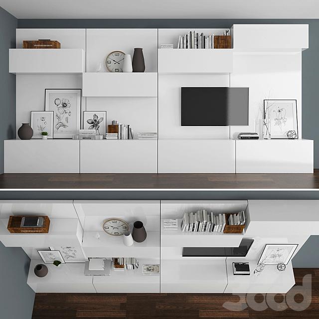 TV stand set 022