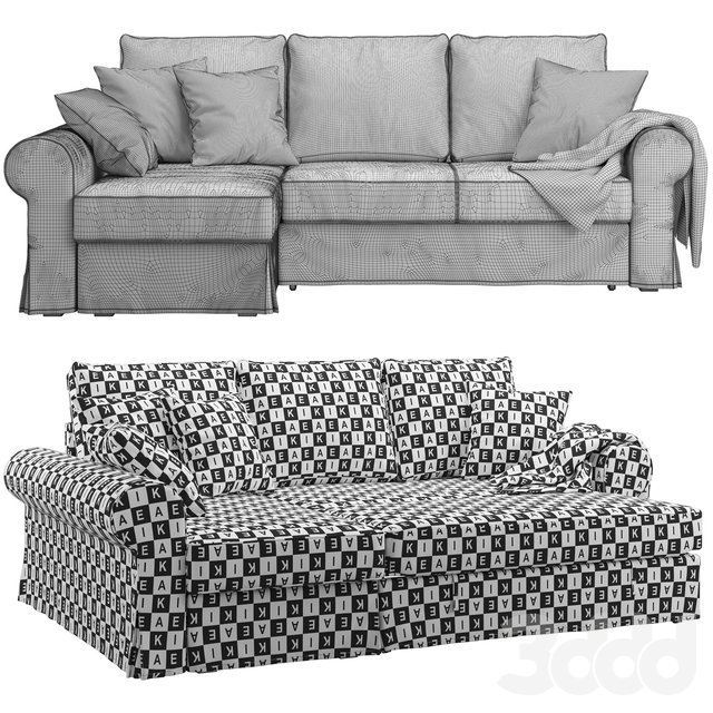 Ikea Backabro 2 (2 sofas)