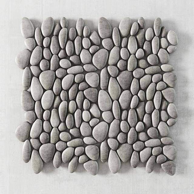 Oval Pebble Panel / Панель из овальной гальки