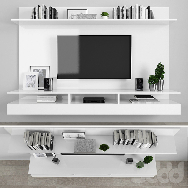 TV stand set 024