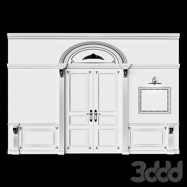 Двери классические, Буазери