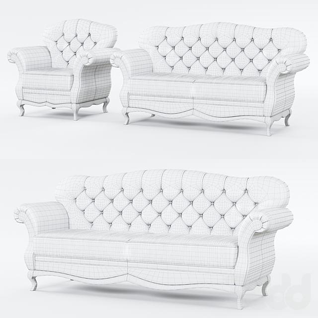 Taranko Milano Sofas and Armchair