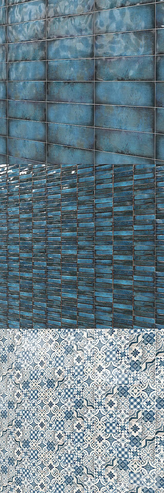 Плитка Cifre Montblanc Blue.