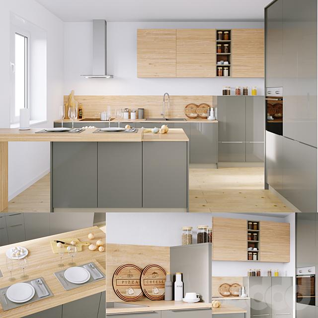 Кухня Nolte Corona  19Q   Legno 59C (corona PBR)