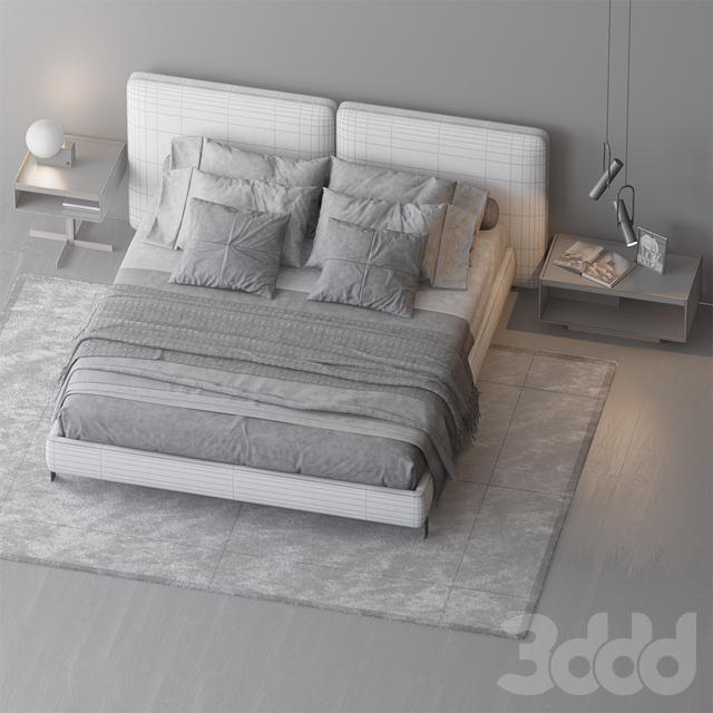 BED BY MINOTTI 8