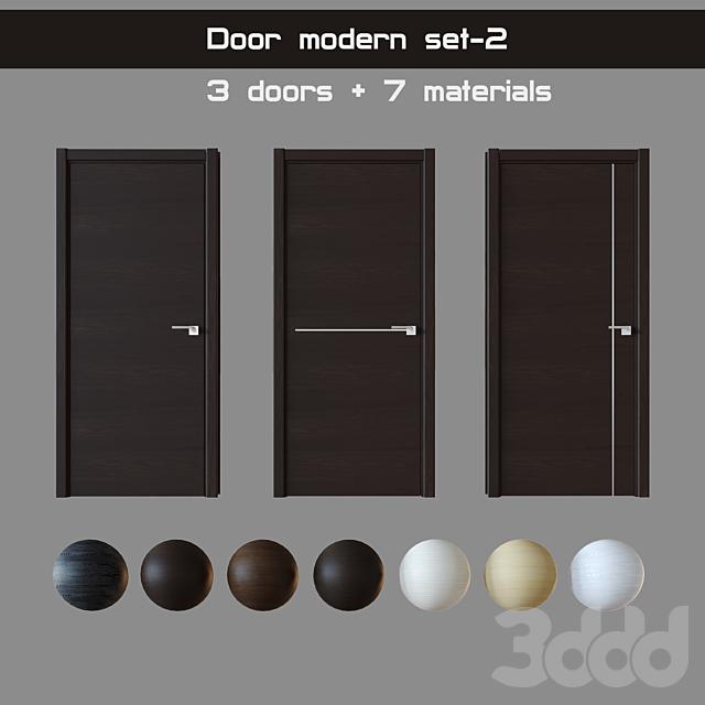 Door modern set-2