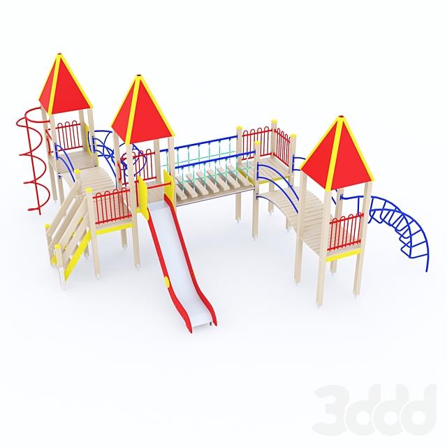 Детский игровой комплекс ксил 5307