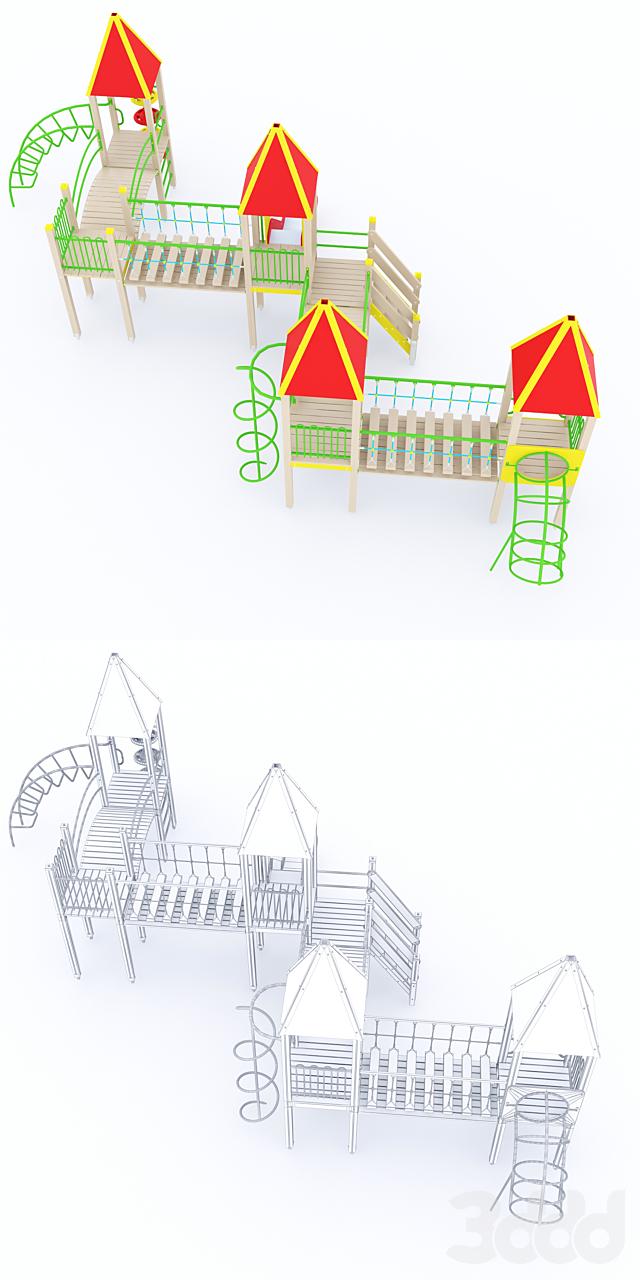Детский игровой комплекс ксил 5308