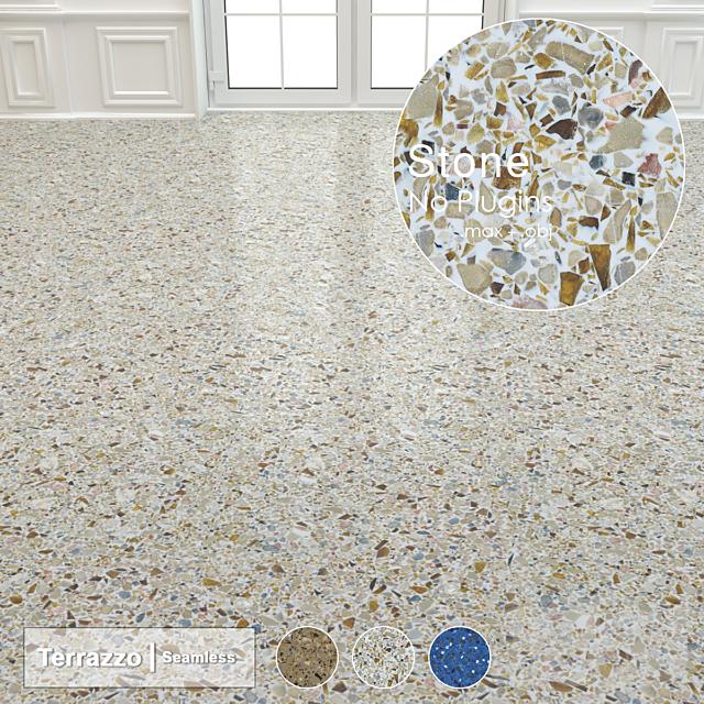 Seamless Terrazzo Stone 002