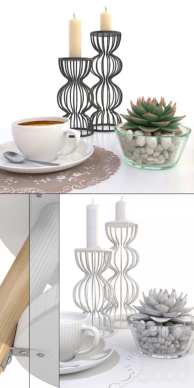 Журнальный столик Jimi La Redoute + декоративный набор
