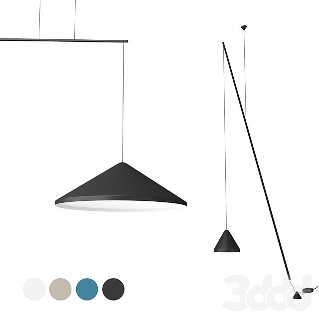 Vibia North (floorl&suspended light)