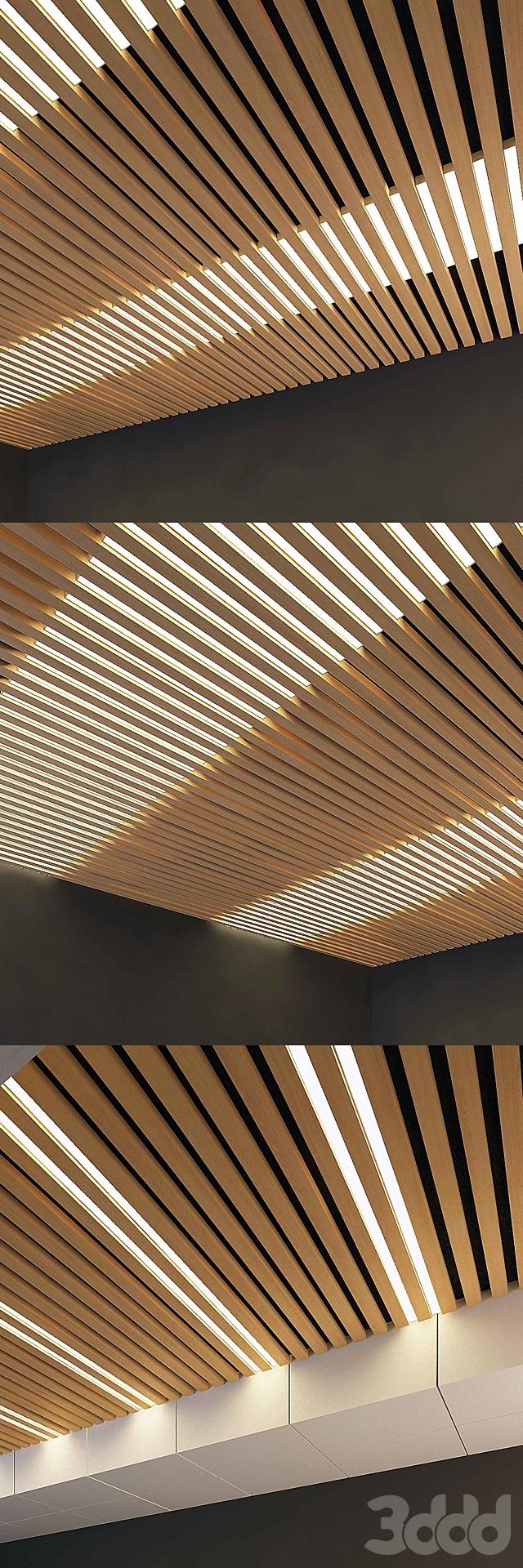 Деревянный потолок 9