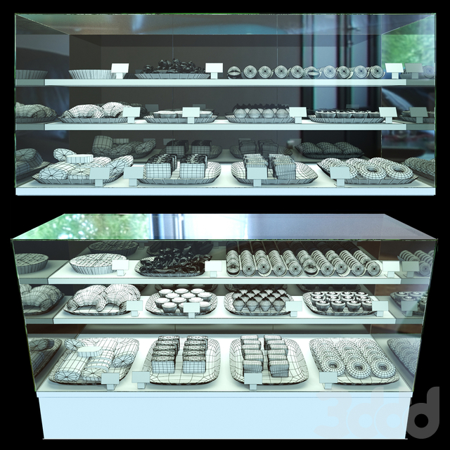Холодильная витрина кондитерских изделий