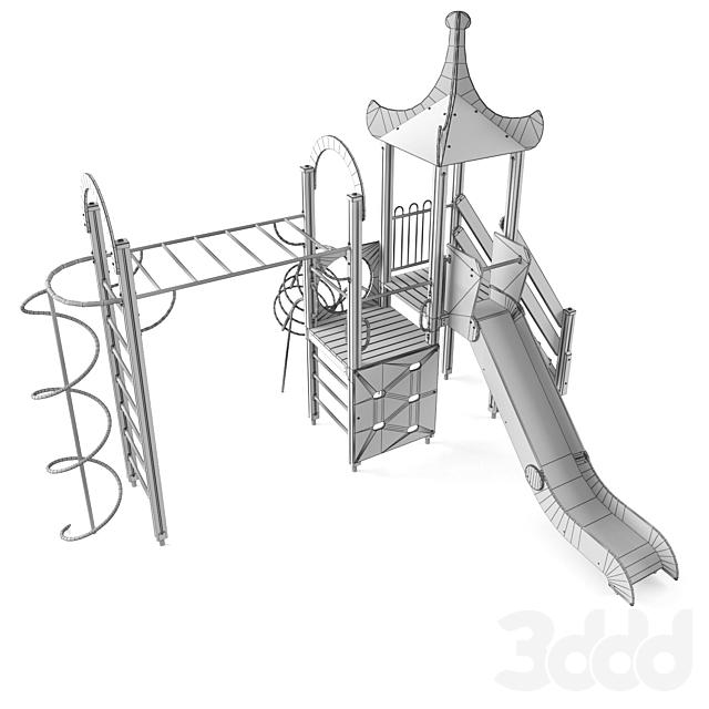 Детский игровой комплекс 25