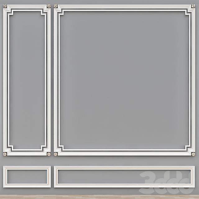 Decorative molding № 009