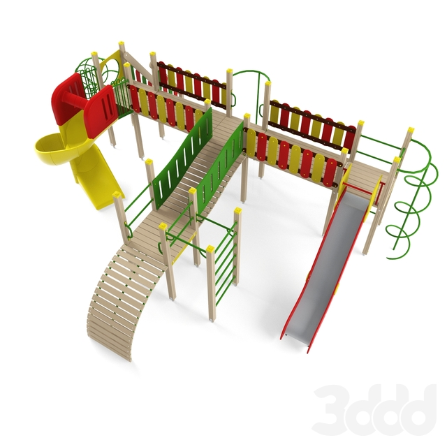 Детский игровой комплекс 21