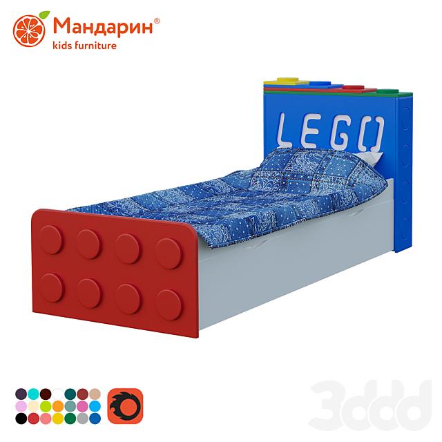 Кровать подростковая с доп спальным местом