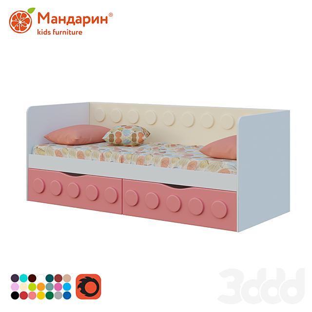 Диван-кровать подростковый с 2-мя ящиками