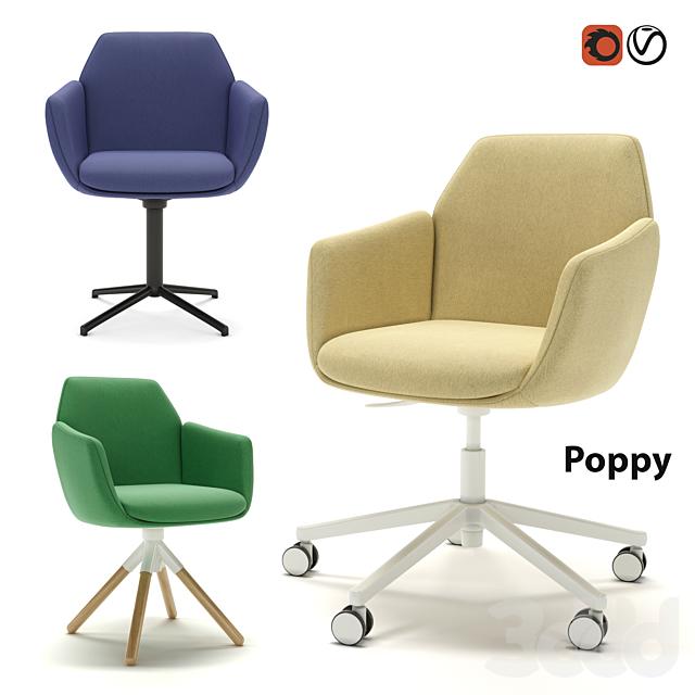 Офисное рабочее кресло Haworth Poppy