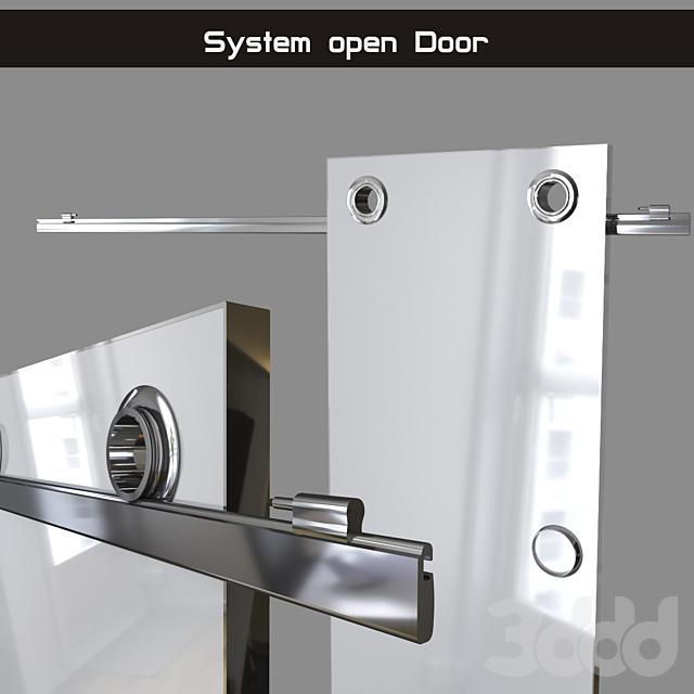 """Система открывания дверей """"Circle"""" (раздвижная система)"""