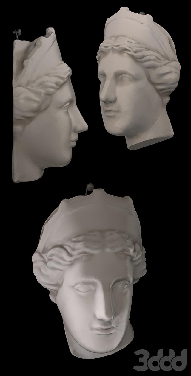 Голова гипсовая Венера Капуа