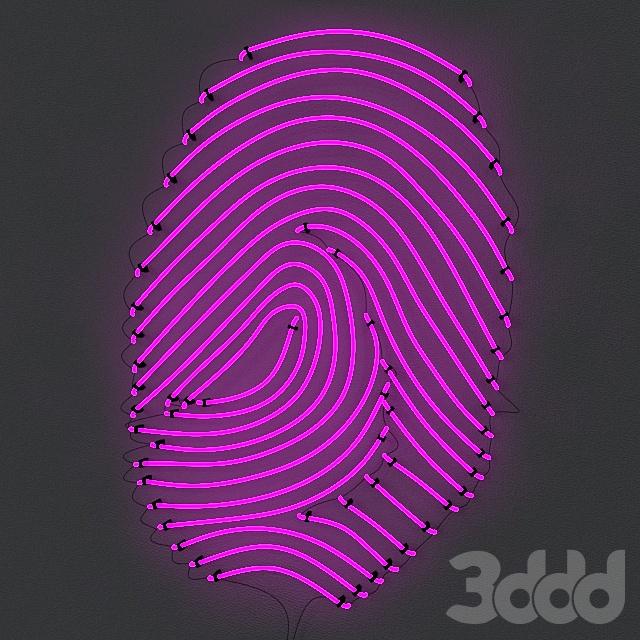 Neon FingerPrint