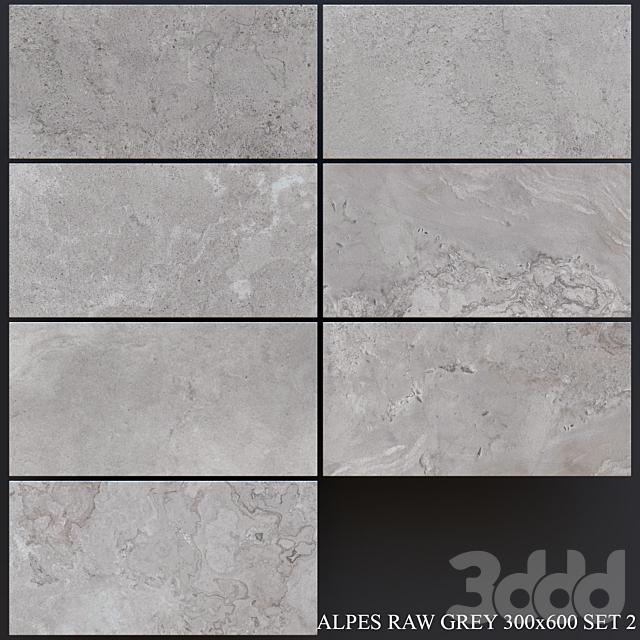 ABK Alpes Raw Grey 300x600 Set 2