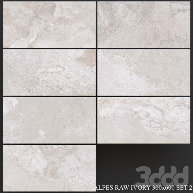 ABK Alpes Raw Ivory 300x600 Set 2
