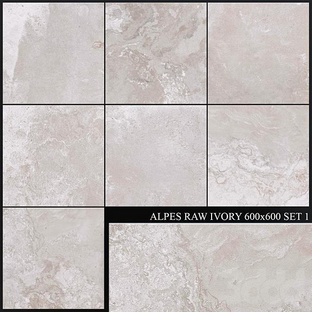 ABK Alpes Raw Ivory 600x600 Set 1