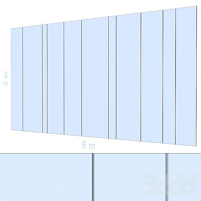 Декоративная стена 159.