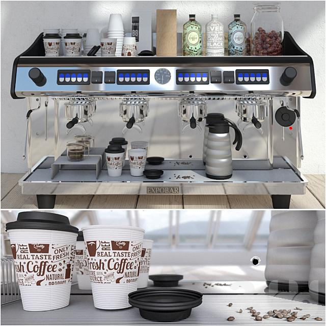 Expobar 4 Group Megacrem Coffee Machine