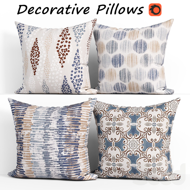 Decorative Pillow set 266 Etsy