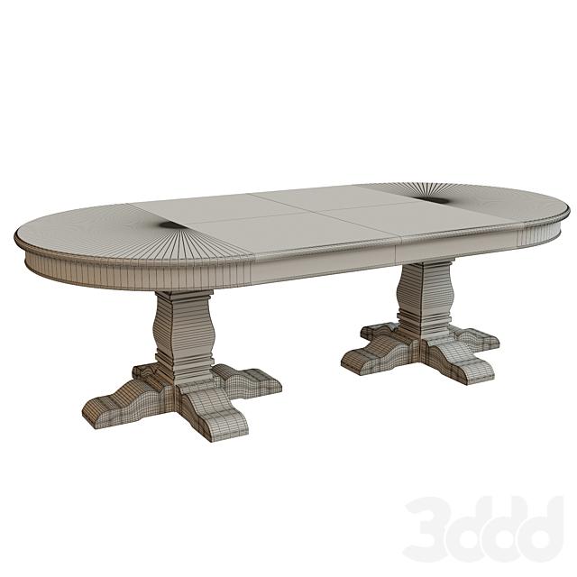 Обеденный стол с шпоном_2500
