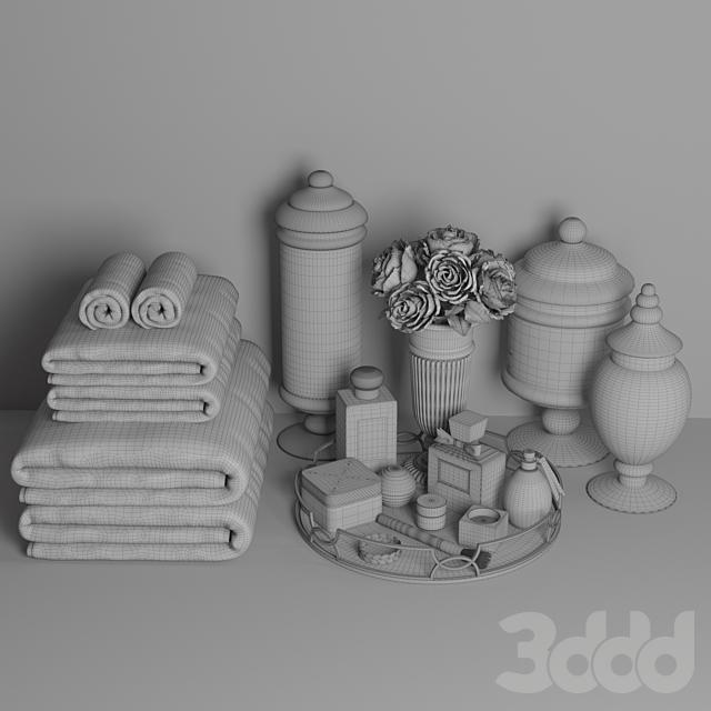 Декоративный набор для санузла 3