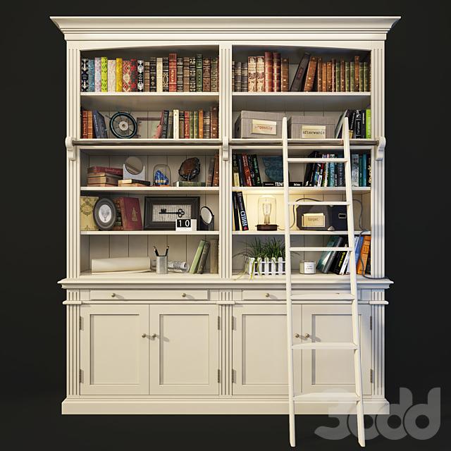 Книжный шкаф, библиотека Amandine. Maisons du monde.