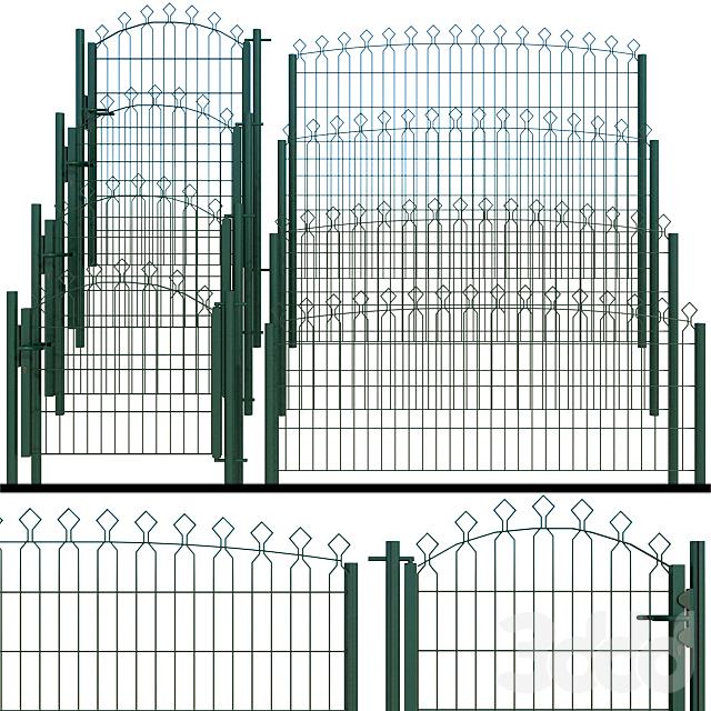 Ворота, калитка