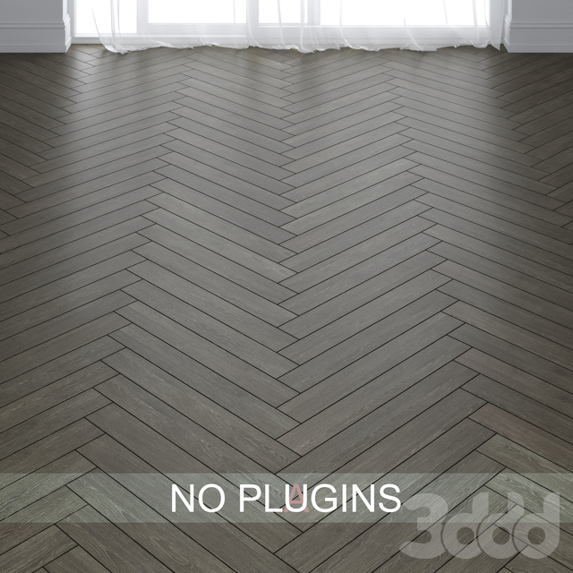 Oak wood Parquet Floor Tiles vol.007 in 2 types