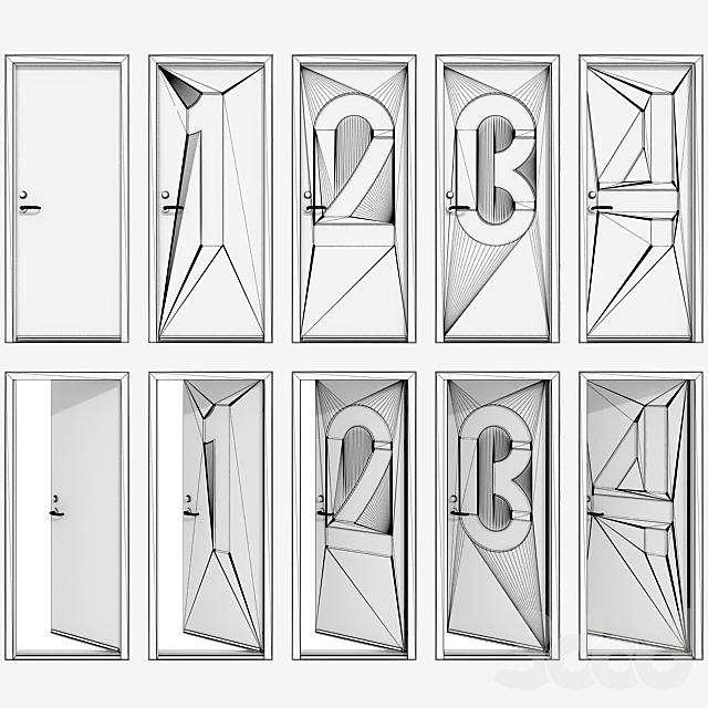 Дверь с цифрами (Часть I)