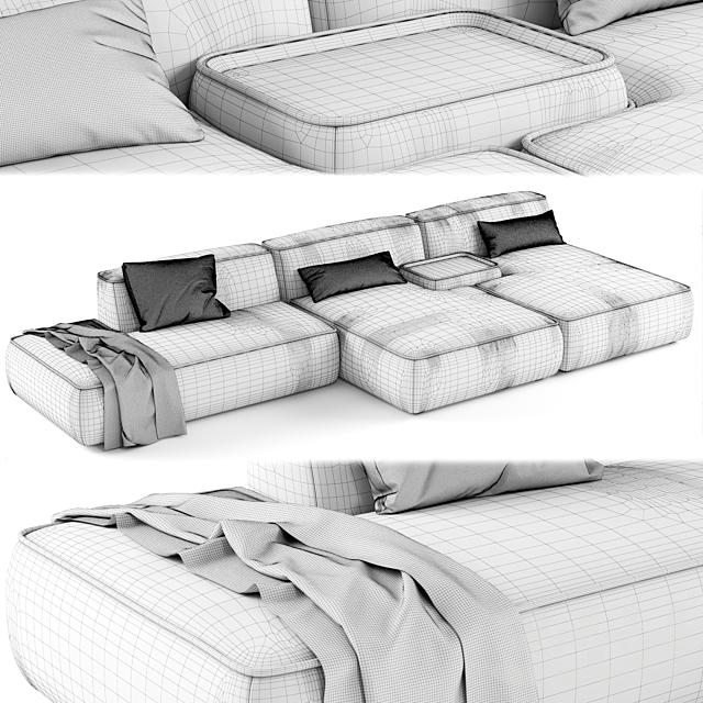 Lema CLOUD Sectional sofa_02