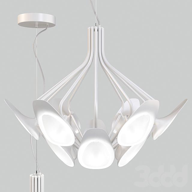 Kundalini: Pendant Lamp - Peacock